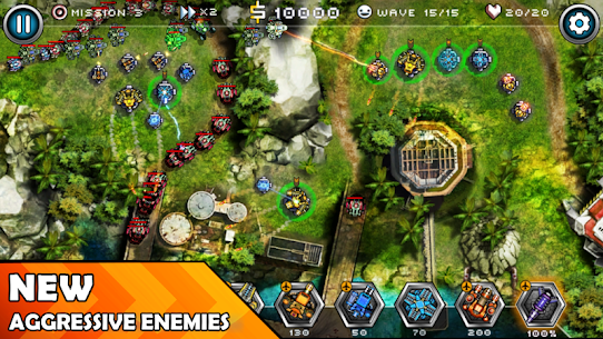 Tower Defense Zone 2 1.2 (MOD + APK) Download 2