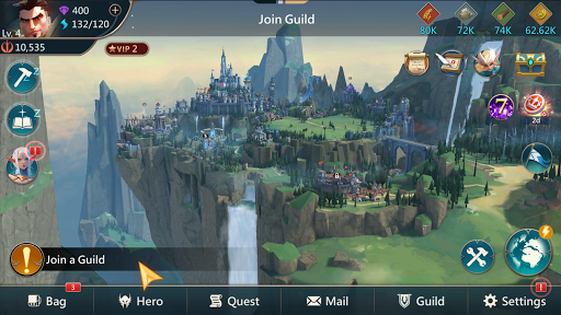 Mobile Royale MMORPG - Build a Strategy for Battle  screenshots 10