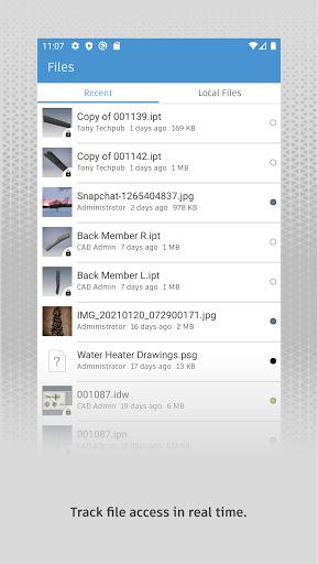 Autodesk Vault Mobile screenshots 2