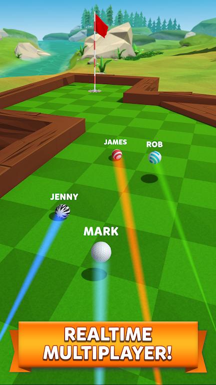 Golf Battle poster 7
