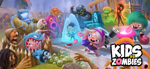 Kids vs Zombies: Brawl for Donuts  screenshots 1