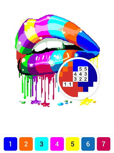 Draw.ly - Color by Number Pixel Art Magic Coloring 3.0.8 screenshots 14