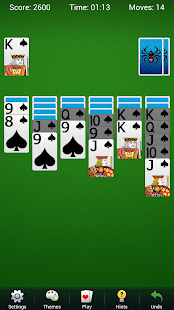 Spider Lite - Brand New Solitaire Card Game