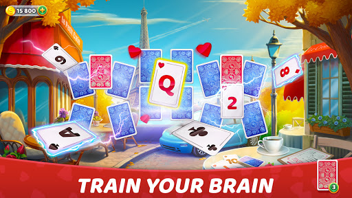 Solitaire Cruise: Classic Tripeaks Cards Games android2mod screenshots 2