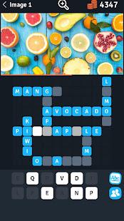 8 Crosswords in a photo