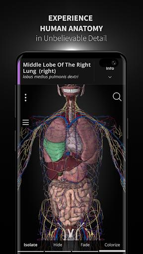 Anatomyka - 3D Human Anatomy Atlas 2.1.5 Screenshots 1