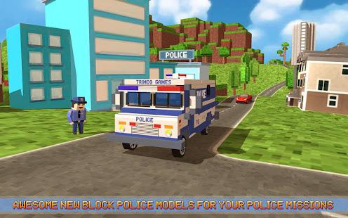 block city police patrol hack
