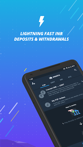 WazirX - Bitcoin, Crypto Trading Exchange India android2mod screenshots 1