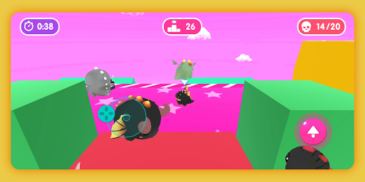 Fall.io - Race of Dino apkslow screenshots 5