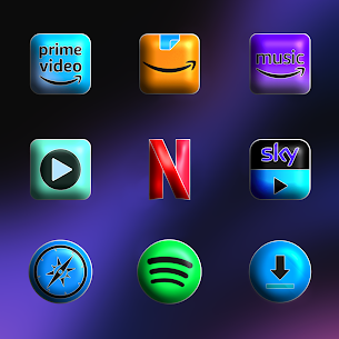 Download FluOxigen 3D – Icon Pack (Patched) 5
