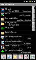 screenshot of FTP Plugin for Total Commander