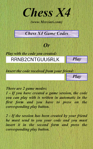Chess X4 Online 1.3.1 screenshots 4