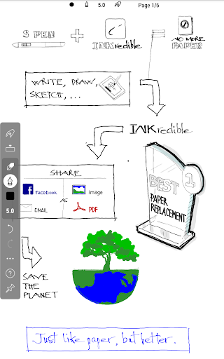 INKredible - Handwriting Note 2.5.1 Screenshots 14