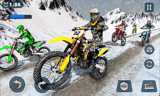 Dirt Bike Racing 2020: Snow Mountain Championship 1.0.8 screenshots 5