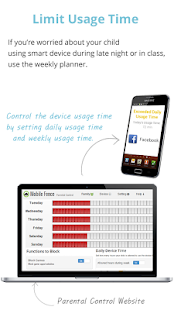 Mobile Fence Parental Control - Screen Time Screenshot