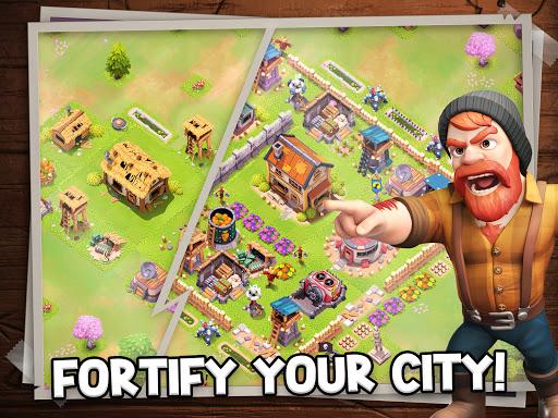 Survival City - Zombie Base Build and Defend apkpoly screenshots 8