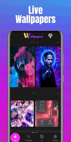 3D & Live Wallpapersのおすすめ画像1