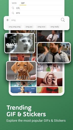 Facemoji Emoji Keyboard Lite: Emoji,DIY Theme,GIF 2.5.3.1 Screenshots 6