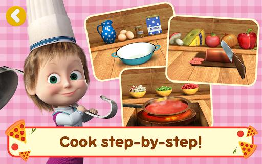 Masha and the Bear Pizzeria Game! Pizza Maker Game  screenshots 12