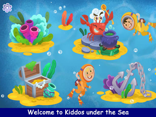 Kiddos under the Sea : Fun Early Learning Games 1.0.3 screenshots 9