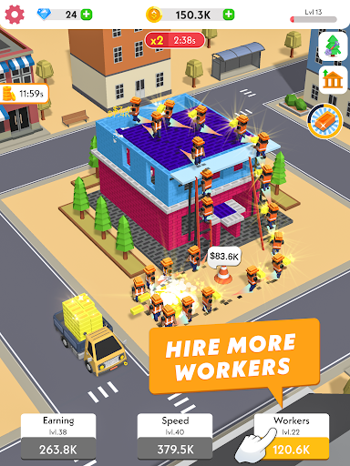 Idle Construction 3D screenshots 10