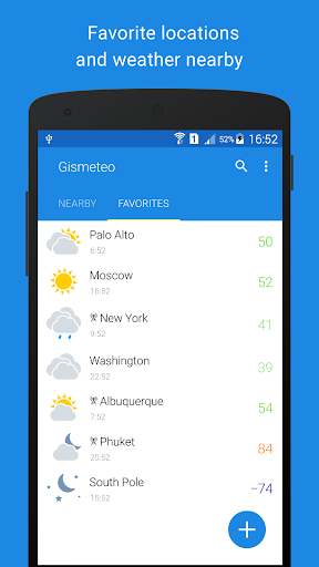 Gismeteo 1.1.10 Screenshots 4
