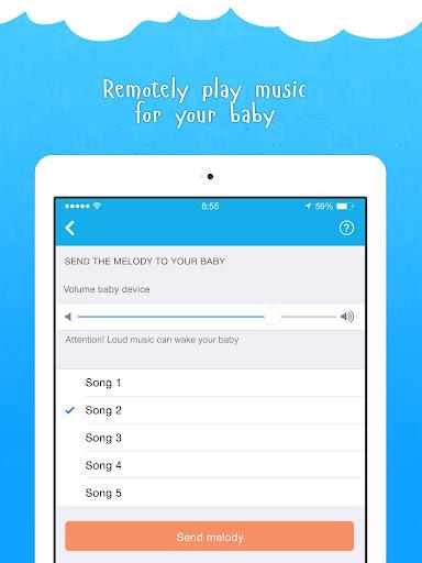 Ahgoo Baby Monitor - audio and video monitoring 2.1.73 Screenshots 9