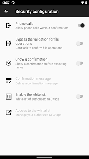 NFC Tasks Screenshot
