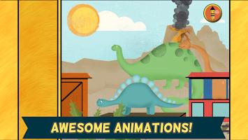 Kids Dinosaur Games: Puzzles