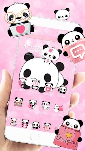 Cute Panda Love Theme For Pc | How To Install (Download On Windows 7, 8, 10, Mac) 1