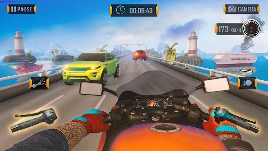 Bedava motor Trafik Binici  otoyol Sürme Oyunlar Apk 2021 5