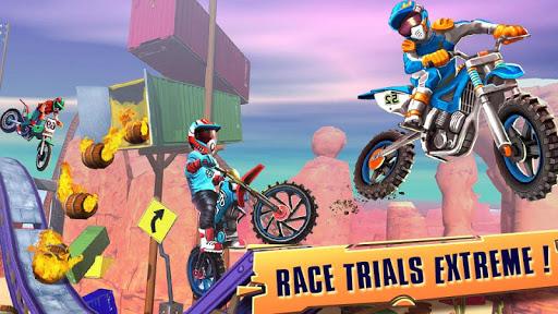 Télécharger course vélo d'essai: xtreme stunt bike jeux course mod apk screenshots 1