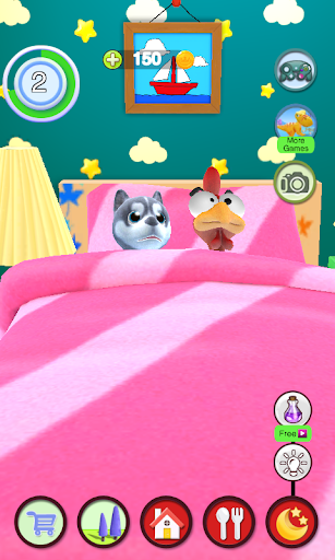 Talking Puppy And Chick 1.30 screenshots 8