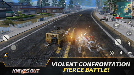Knives Out-No rules, just fight!  APK MOD (Astuce) screenshots 4