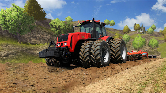 Tractor Drive 3D : Offroad Sim Farming Game 5