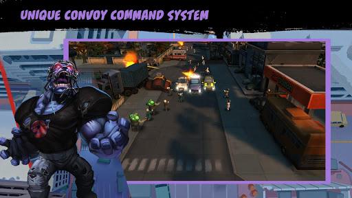 deadly convoy: zombie defense screenshot 2