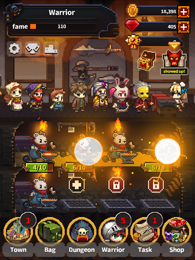 Warriors' Market Mayhem VIP : Offline Retro RPG 1.5.24 screenshots 7