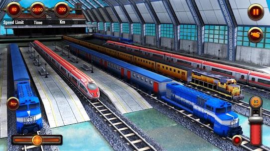 Train Racing Games 3D 2 Player MOD APK (Unlimited Money) 5
