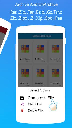 Rar Extractor for Android: Zip Reader, RAR Opener 1.7.2 screenshots 8