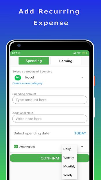 X - Money Manager - Expense Tracker screenshot 2