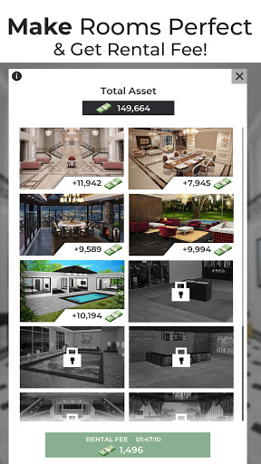 Million Dollar Homes  - Design & Puzzle Games 1.0.0 screenshots 1