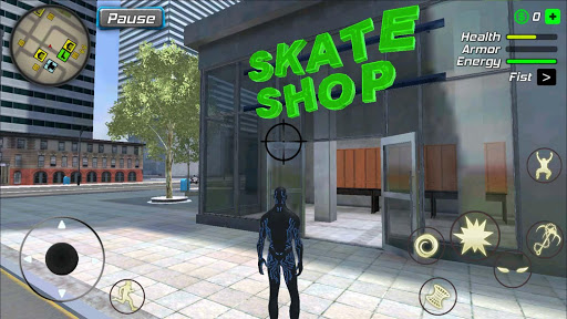 Black Hole Hero : Vice Vegas Rope Mafia android2mod screenshots 22