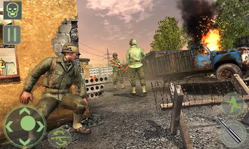 Frontline World War 2 Survival Mod Apk (God Mode) 2