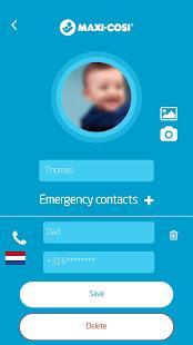 Maxi-Cosi e-Safety 1.18.0 Screenshots 2