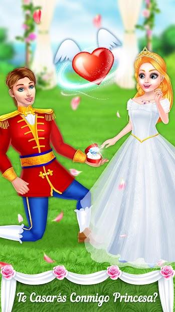 Captura de Pantalla 6 de princesa boda historia de amor para android