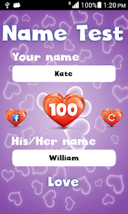 Name Love Test  For Pc – (Free Download On Windows 7/8/10/mac) 2