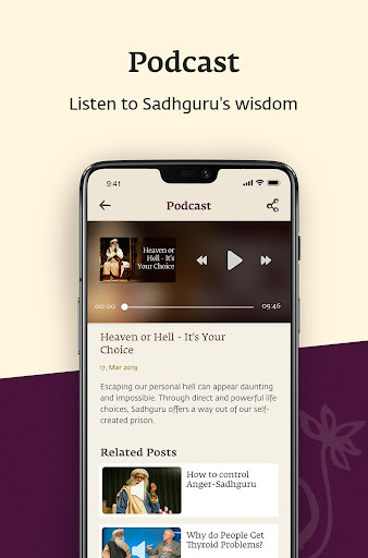 Sadhguru - Yoga, Meditation & Spirituality 6.4.6 Screenshots 4