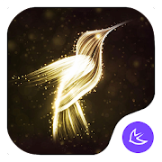 flamingos-APUS Launcher theme