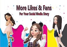 3D avatar creator, Emoji maker cool chatのおすすめ画像3