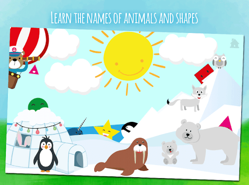 Animals first words, game for toddlers from 1 year  screenshots 2